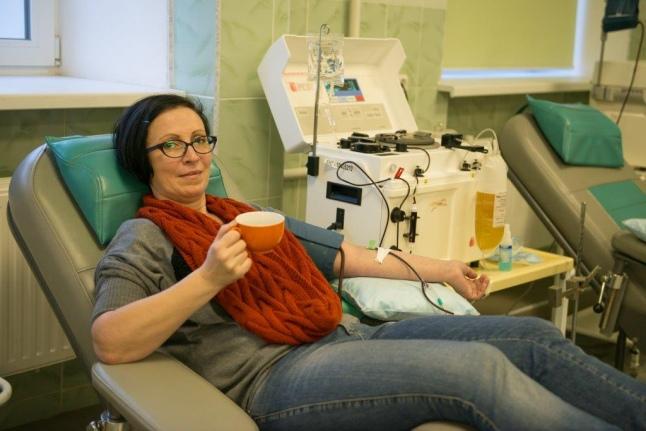 Безумное чаепитие в отделении переливания крови 52 больницы
