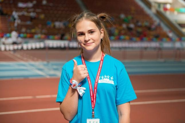 Женя Асеева, спортсменка и просто красавица (Игры победителей-2018)