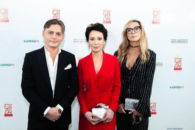 Андрей Андреев, Чулпан Хаматова и Ника Белоцерковская
