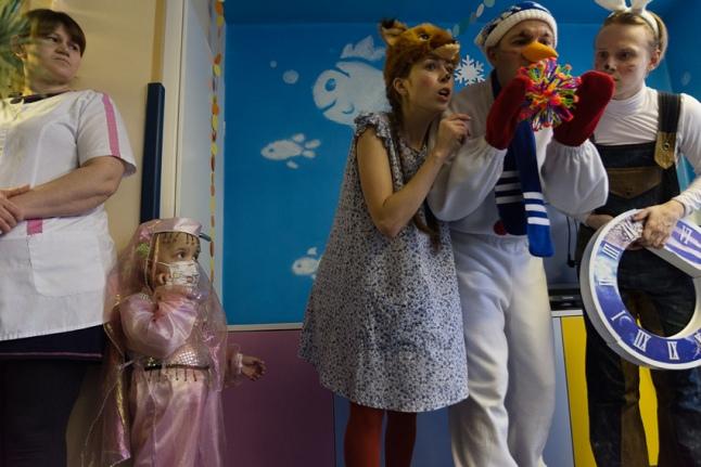 Праздник в Российской детской клинической больнице