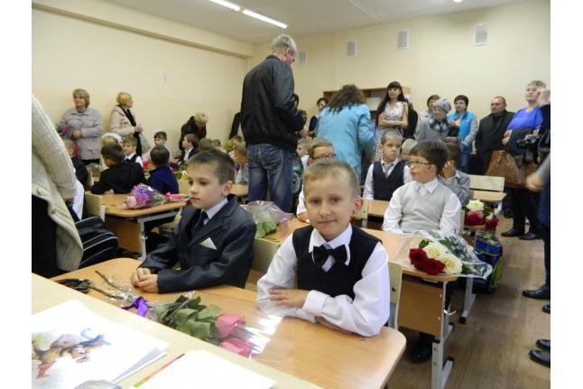 Савелий Лаптев в первом классе