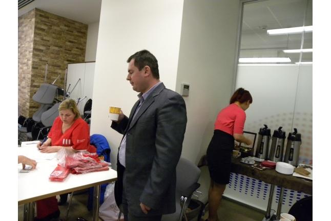 День донора в ОАО «Интер РАО ЕЭС»