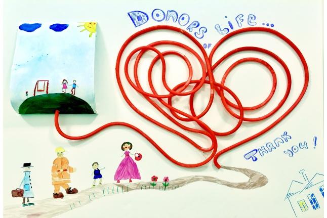 Дети говорят донорам спасибо!