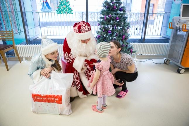 Как дети получали подарки