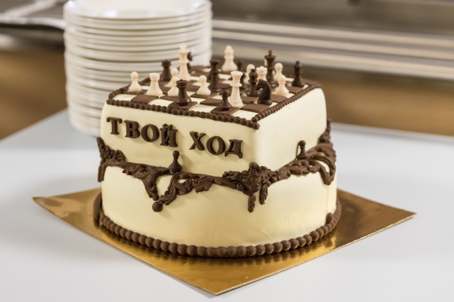 Праздничный торт для выпусников