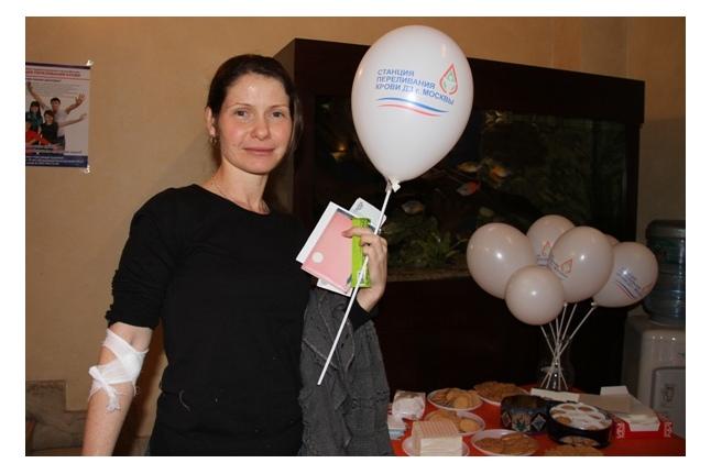 Донорская акция во ВНИРО