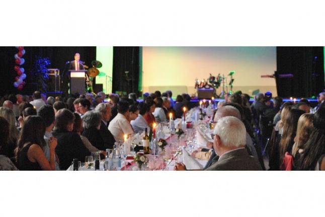 На торжественном вечере в Германии на юбилее фонда Стефана Морша