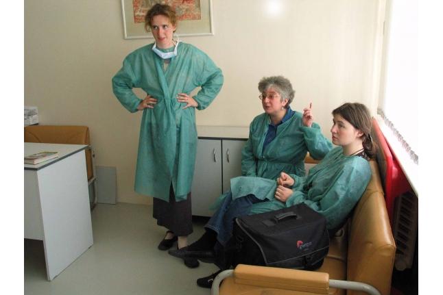 В отделении общей гематологии РДКБ, 2003 год