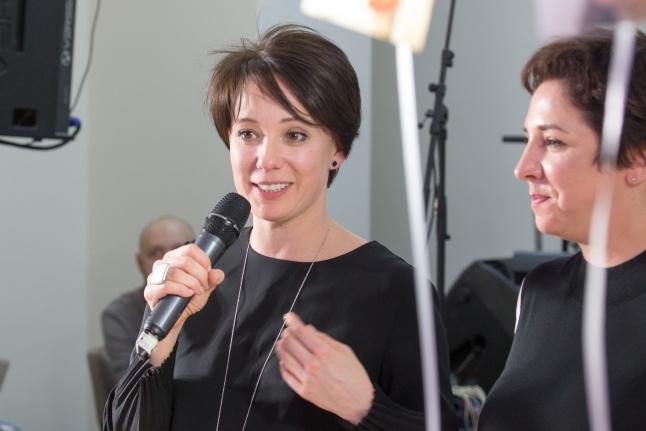 Чулпан Хаматова и Катерина Гордеева