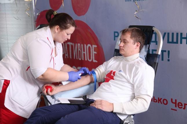 День донора в компании «Газпром Центрремонт»