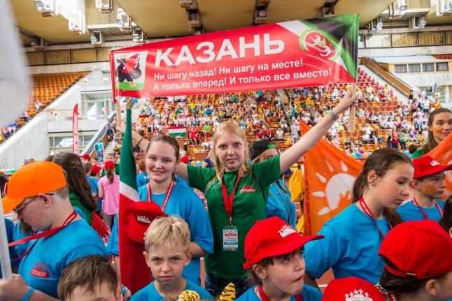 1-й день Игр: команда из Казани