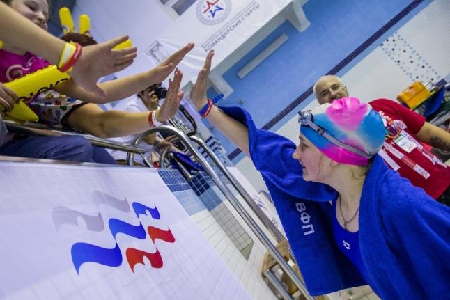 Второй день Игр — плавание