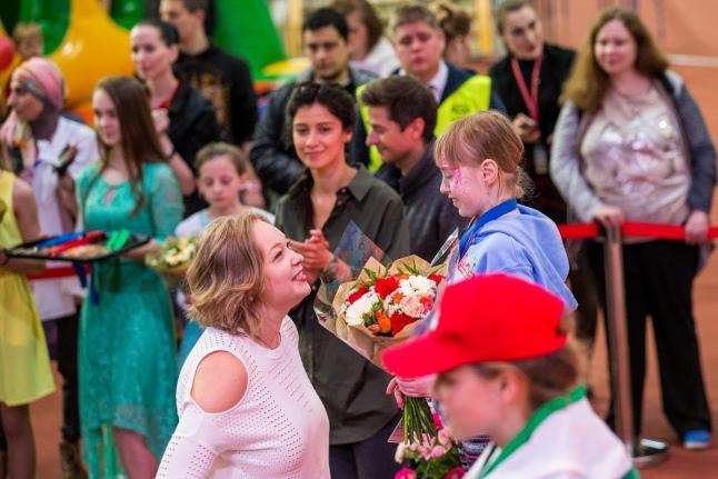 Ирина Скворцова на церемонии награждения
