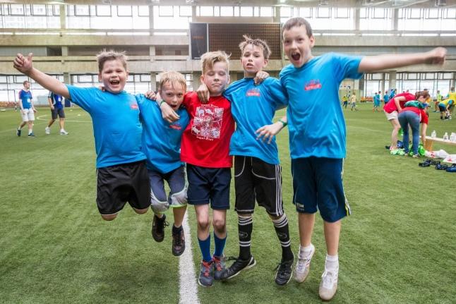 «Игры победителей» — соревнования для детей, перенесших рак