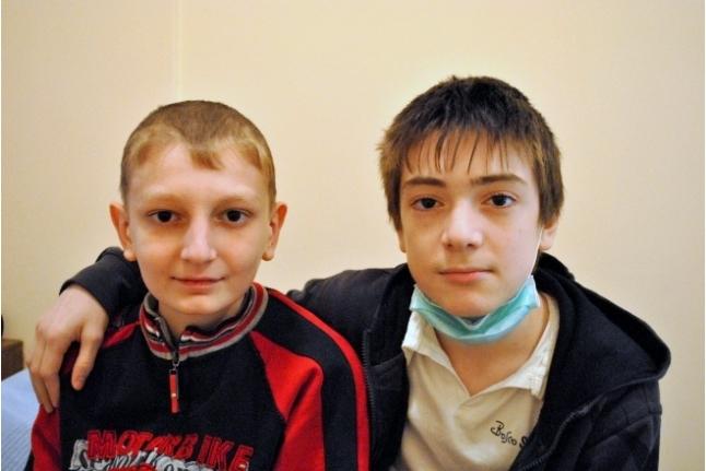 Гена с лучшим другом Нуруллой Махачовым