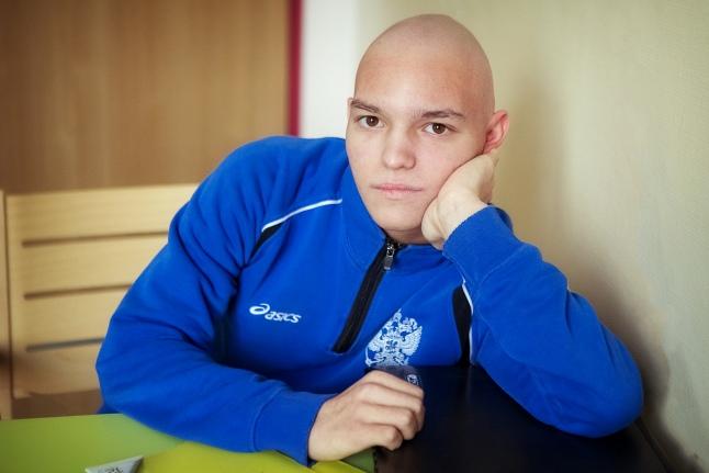 Сережа Герасимов любит футбол и вольную борьбу