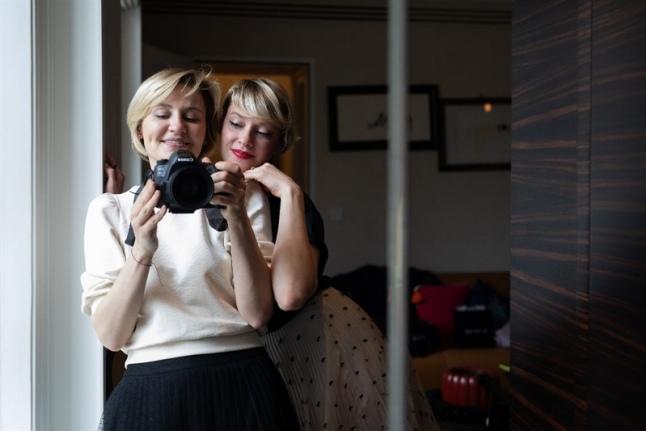 Анастасия Ермоленко и Юлия Лаза