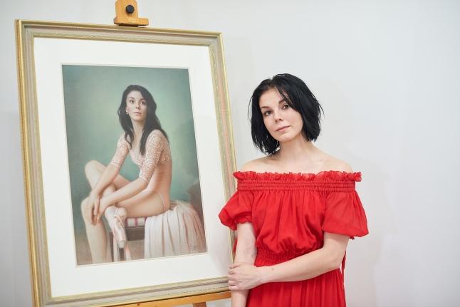 Наталья Осипова и лот осеннего аукциона