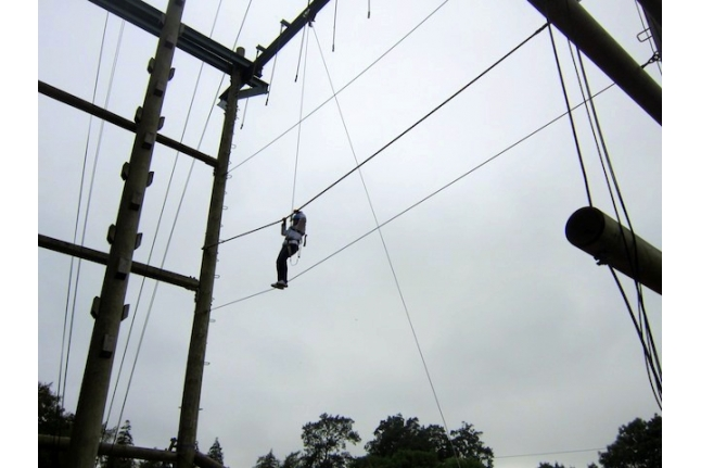 Барретстаун-2012. Занятия по веревочному курсу