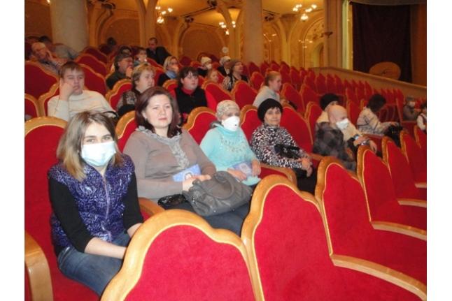 Аня Посова на представлении