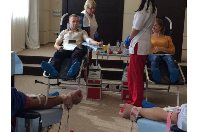 Донорская акция в «МОСОБЛБАНКе»