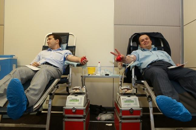 Единая донорская акция в РусГидро