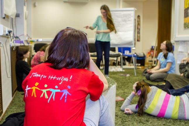 Подготовка волонтеров к работе на реабилитационных сменах