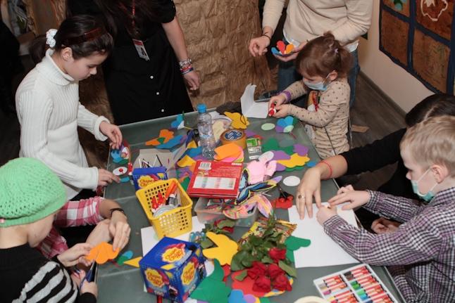 Дети с удовольствием участвовали в мастер-классах