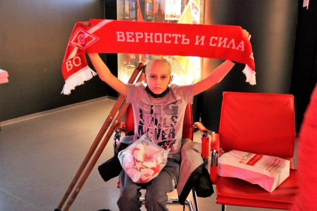 Компания BQ пригласила наших подопечных на стадион ФК «Спартак-Москва» [nid: 34341]