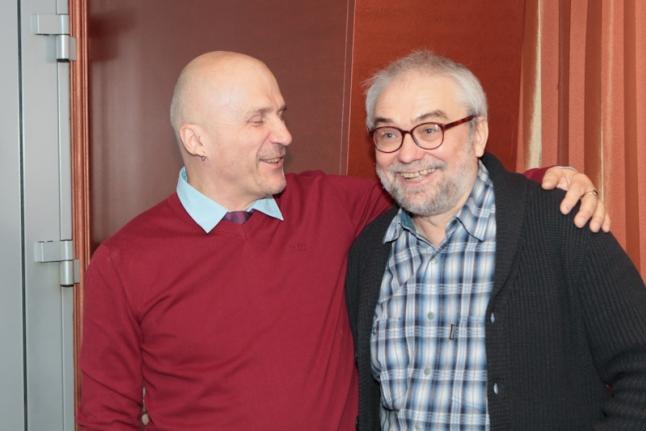 Михаил Бондарев с режиссером фильма