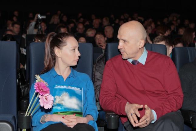 Чулпан Хаматова и Михаил Бондарев