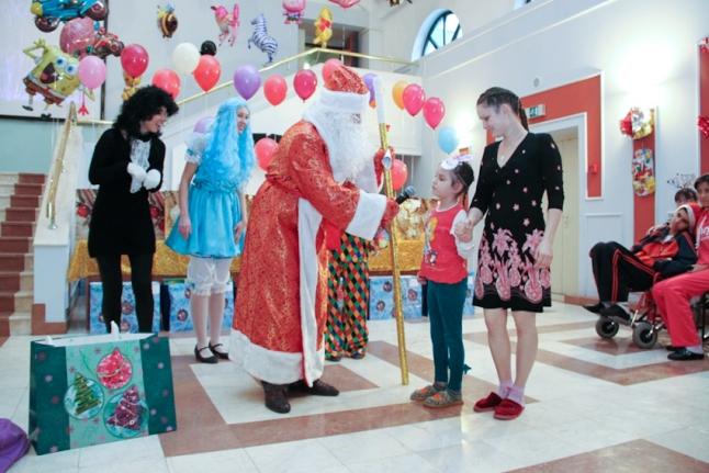 Новогодний праздник в НИИ НХ им. Н.Н.Бурденко