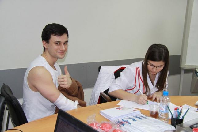 «День Донора» в ОАО «Волжская ТГК»
