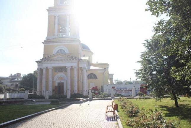 Донорская акция у храма Вознесения Господня в Сторожах