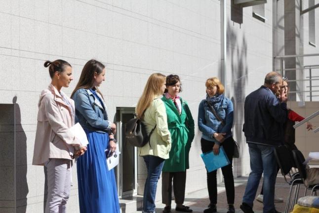 Донорская акция в Корпоративном центре СИБУРа