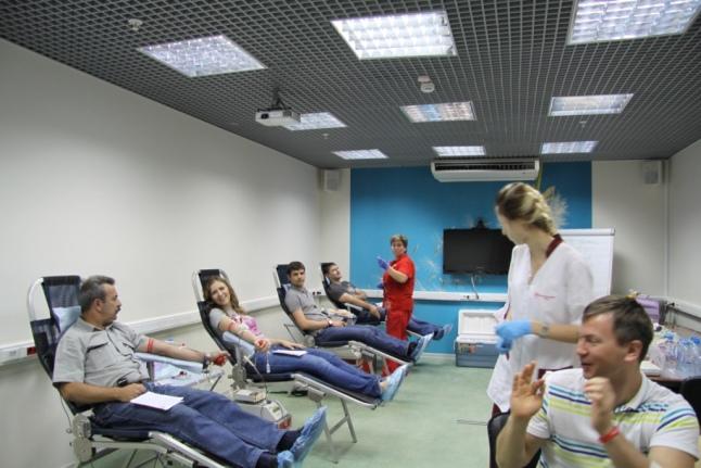 День донора в Корпоративном центре «Т Плюс»