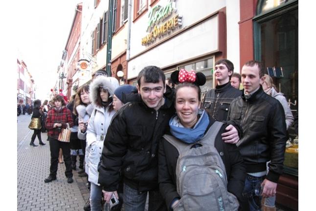 Миша Согомонян на карнавале