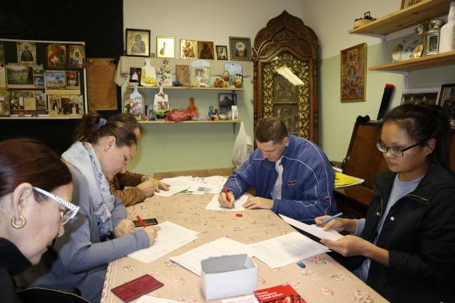 Донорская акция, организованная храмами Иоанна Богослова и Вознесения Господня
