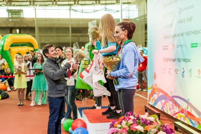 Иван Стебунов на церемонии награждения