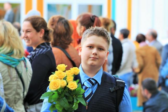 Паша Горянский 1 сентября