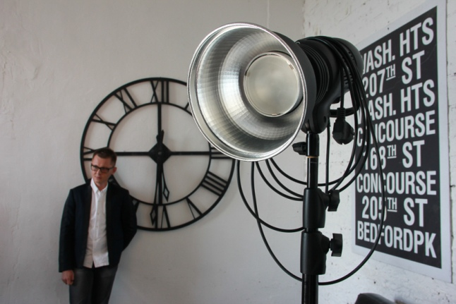 Никита Меркулов на съемках для календаря