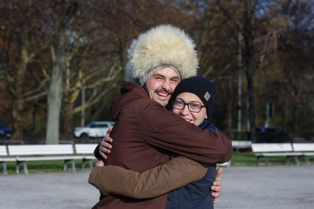 Ахмед Озов и его донор костного мозга из Германии Тимо Зандау
