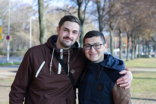 Тимо Зандау и Ахмед Озов