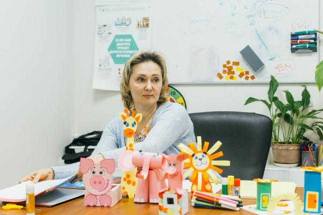 Ольга Дусманова, ведущая мастер-класса