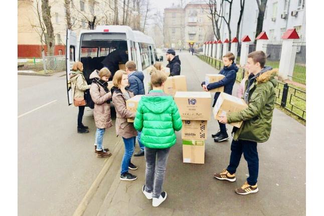 Сбор игрушек в гимназии им. Примакова