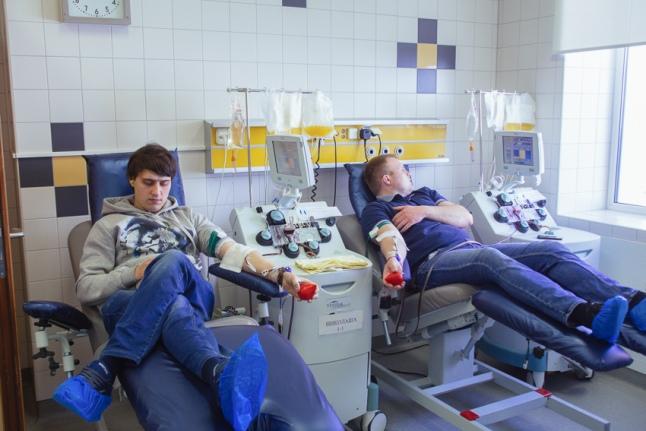 Донация в День донора