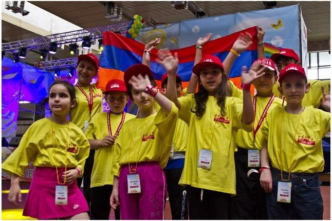 Команда победителей из Армении