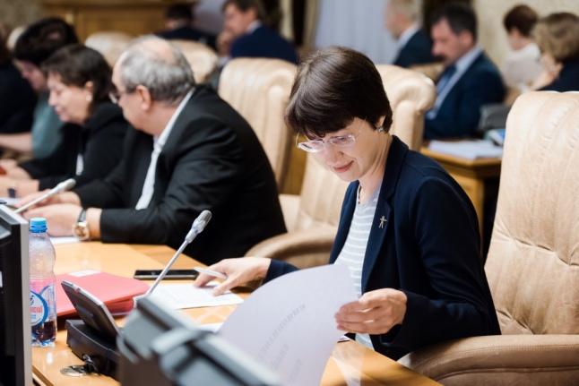 Екатерина Чистякова на Совете при правительстве РФ по вопросам попечительства в социальной сфере