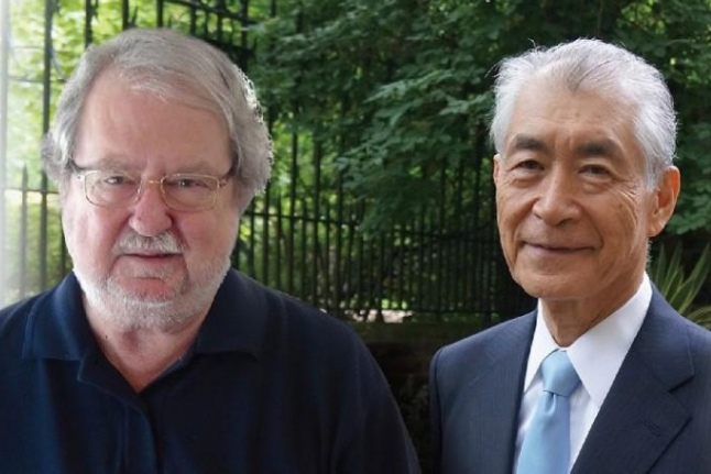 Американец Джеймс Аллисон и японец Тасуко Хондзе, источник: scientificrussia.ru