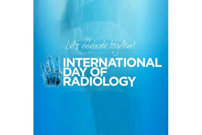 Одна из эмблем Международного дня радиологии